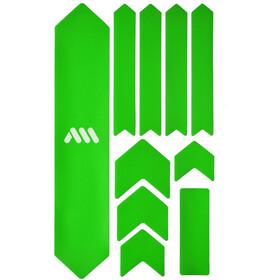 All Mountain Style Extra Kit di Protezione del Telaio 10 Pezzi, verde/bianco